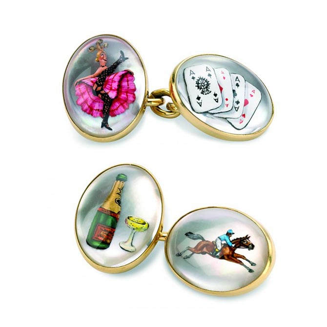 Deakin Francis Road to Ruin Cuff Links