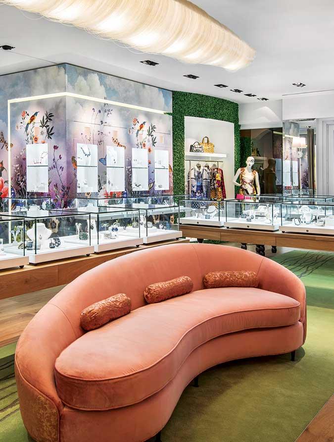 interior of Marissa Collections in Naples Florida