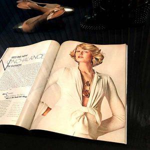 1972 Vogue Mod Halston Elsa Peretti