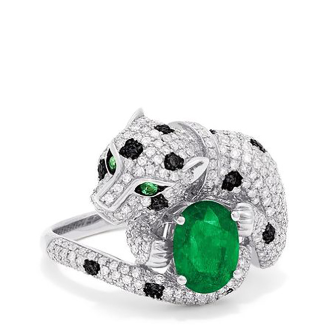 6 Effy-Diamond-Panthe Emerald Eyes Ring