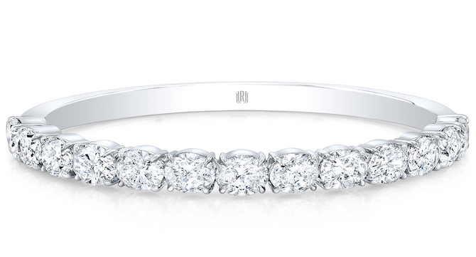 Rahaminov diamond bangle bracelet