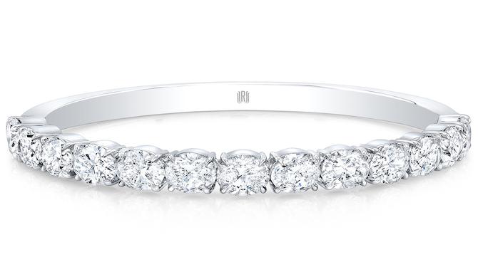 Rahaminov diamond bangle bracelet