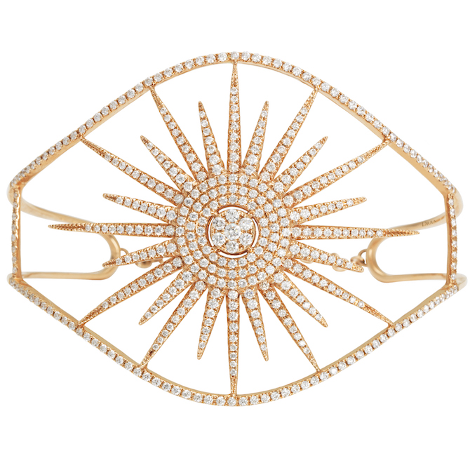 Djula Big Sun diamond bracelet