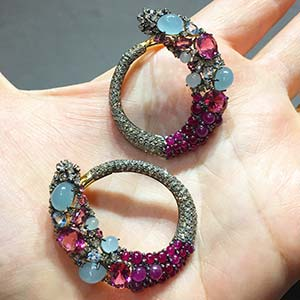 Brumani Earrings at VicenzaOra