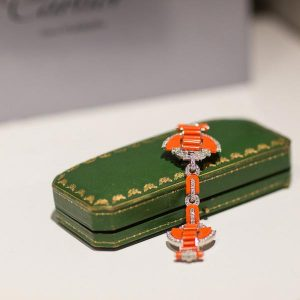 Cartier art deco cloak clasp
