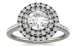 Charles and Covard moissanite gold ring