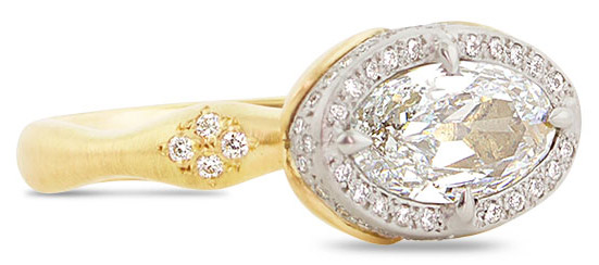 adel chefridi solitaire semimount engagement ring