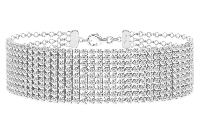 Djula diamond choker necklace