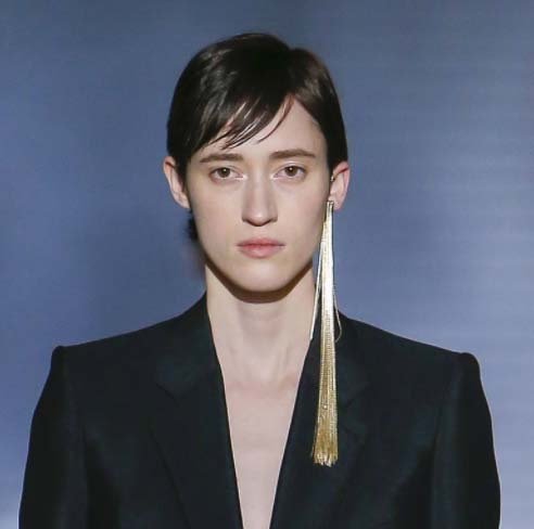 Givenchy Couture Spring 2018 Earring The 3 Paris Shows That Hint At Trends To E Jck