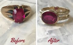 Ruby Rings Heirloom jewelry makeover