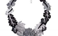 Lugano Diamonds leaf necklace
