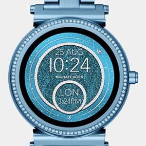 5c74a7b529e1 Michael Kors  Access Smartwatches Are Super-Glittery for Spring - JCK
