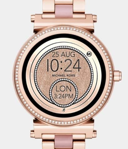 60443cb4aca4 Michael Kors  Access Smartwatches Are Super-Glittery for Spring - JCK