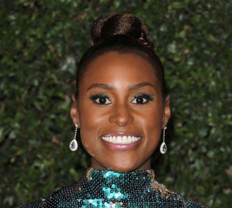 Issa Rae Tiffany earrings NAACP