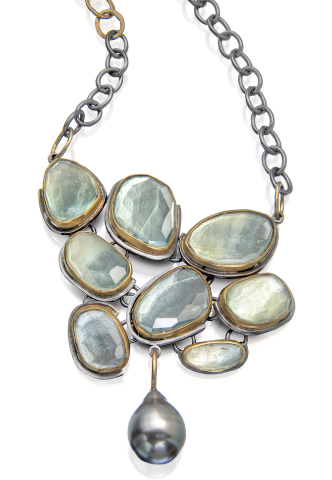 Sydney Lynch Beryl Beach Pebble necklace