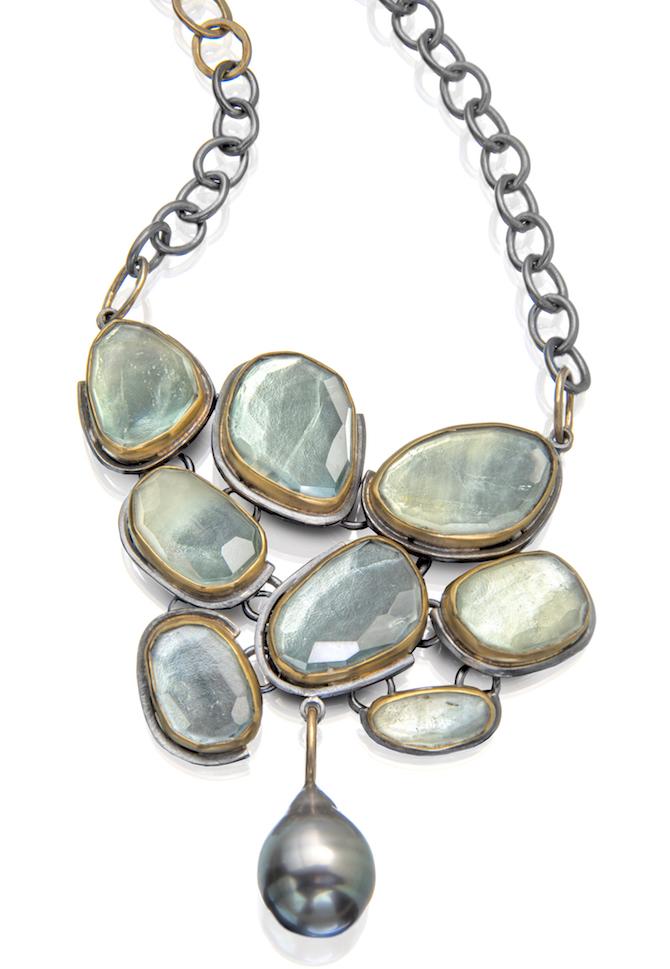 Sydney Lynch Beryl Beach Pebble necklace