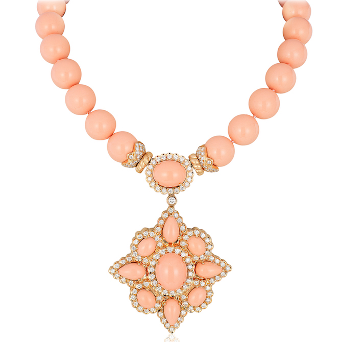 Andreoli coral necklace | JCK On Your Market