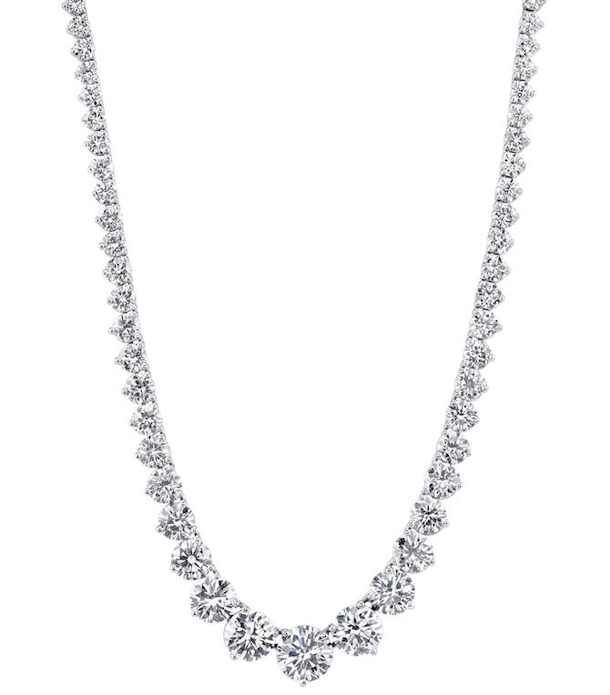 Joshua J Riviera diamond necklace | JCK On Your Market