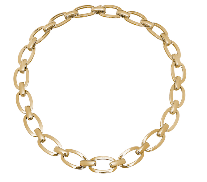 Spallanzani Manette link necklace