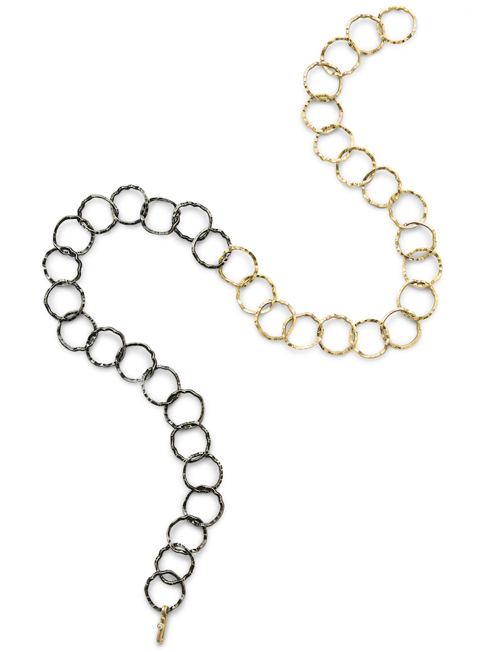 Dana Bronfman Silhouette convertible necklace
