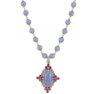 Erica Courtney Majesty chalcedony necklace
