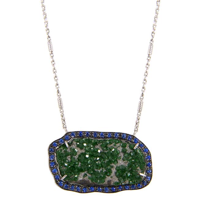 M Spalten Crystallized Meteor necklace