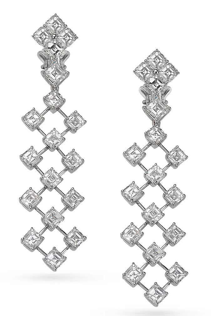 Picchiotti diamond drop earrings