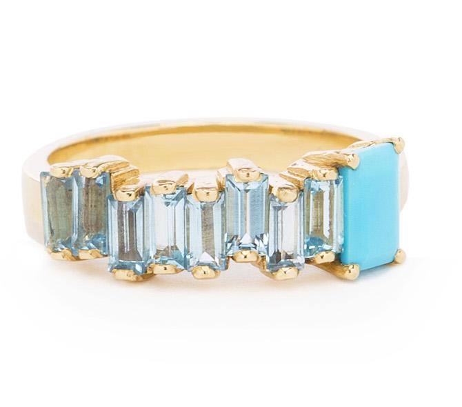 Suzanne Kalan Amalfi turquoise ring