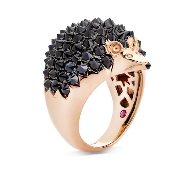 Roberto Coin hedgehog ring