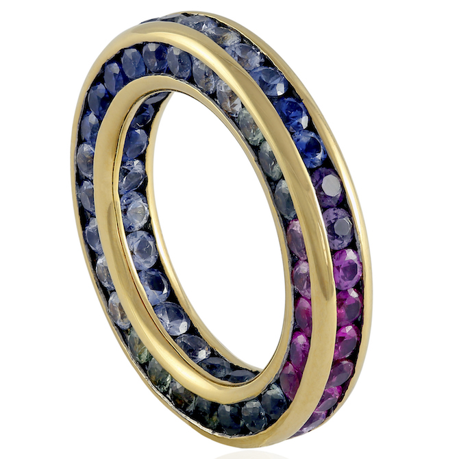 Nol Jewellers Rainbow ring | JCK On Your Market