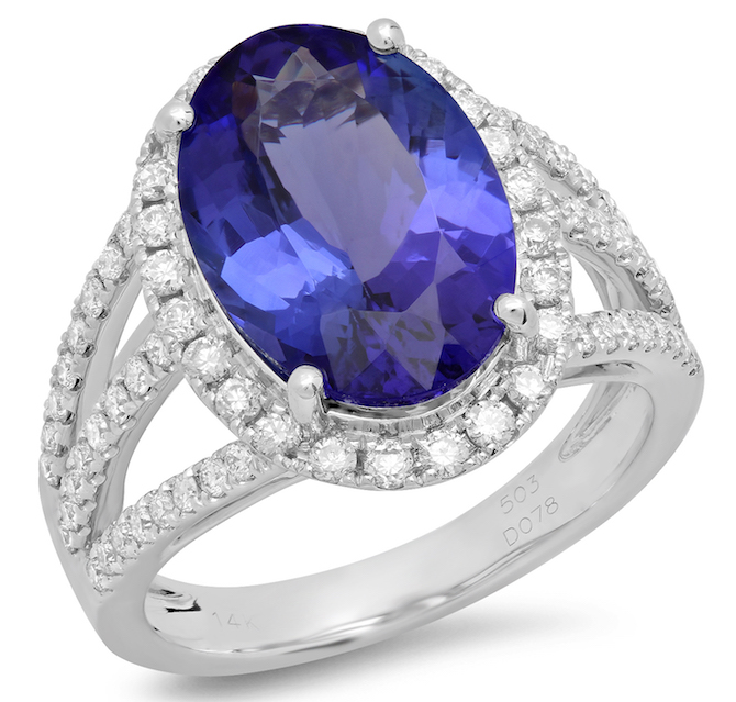 Benjamin and Co tanzanite ring | JCK On Your Market