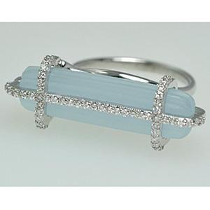 Alan Brodsky chaledecony ring