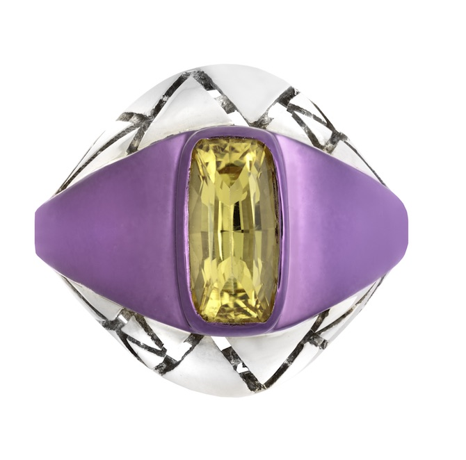 The Rock Hound Chromanteq heliodor ring | JCK On Your Market