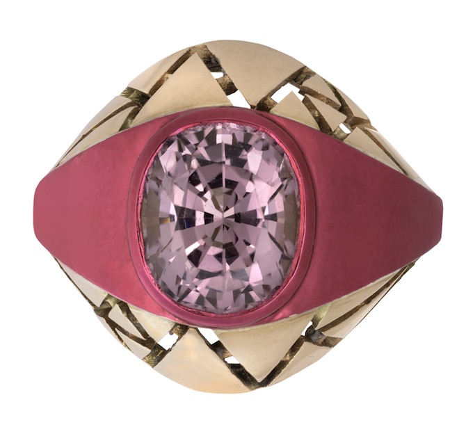 The Rock Hound Chromanteq spinel ring | JCK On Your Market