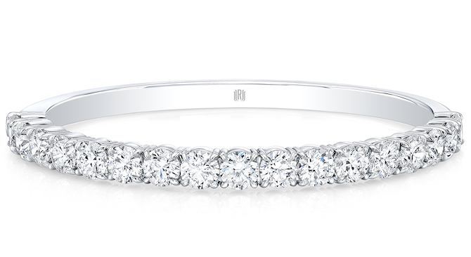Rahaminov round diamond bangle bracelet