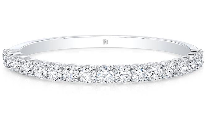 Rahaminov round diamond bangle bracelet