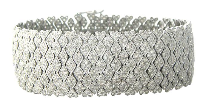 Sethi Couture Diamond bracelet