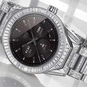 TAG Heuer Diamond Encrusted 197k Smartwatch