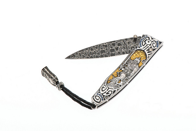 Wiliam Henry Silver Warrior Knife