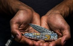 William Henry Silver Warrior Fantasy Pocketknife