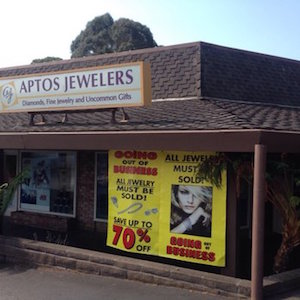 aptos jewelers closing