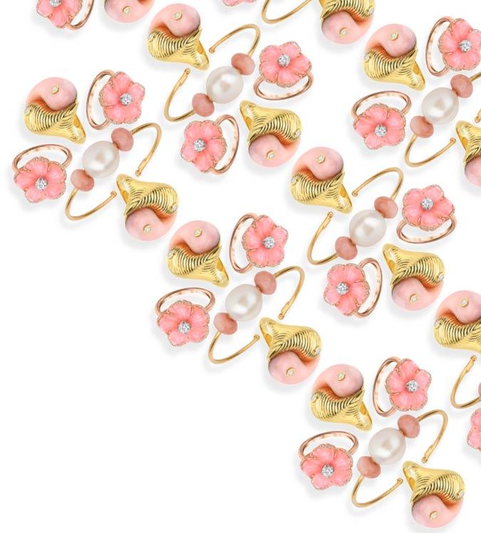 pink opal jewelry