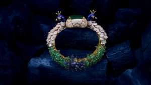Anil Bharwani Peacock bracelet