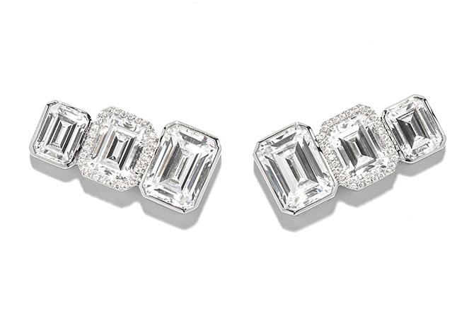 AS29 Diamond earrings