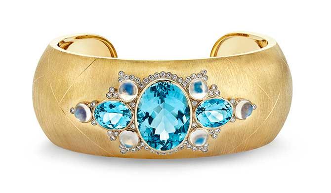 Adam Foster Aquamarine Bracelet