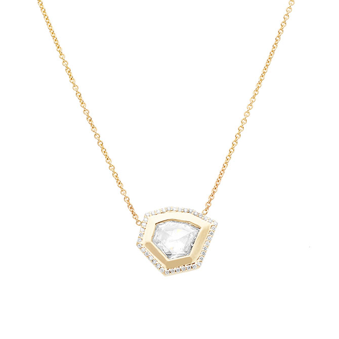 Albritton Day Rose cut pendant