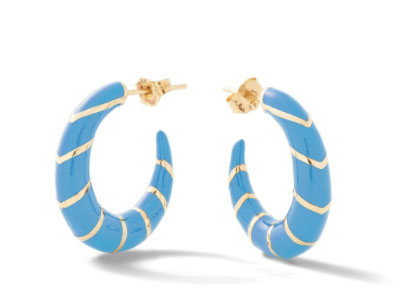 Alison Lou striped earrings