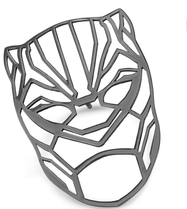 Black Panther jewelry mask