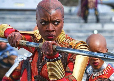 Black Panther jewelry Okoye warrior