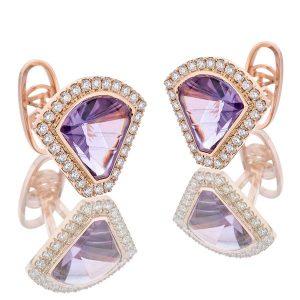 Oh My Got Paramount Purple cufflinks